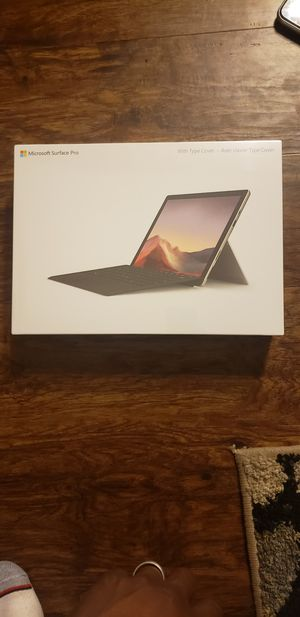 MICROSOFT SURFACE PRO 7 BRAND NEW FACTORY SEALED INSIDE THE BOX MY PRICE IS FIRM THANK YOU. for Sale in Chino, CA