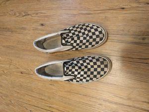 Van's Checkered Men's Shoes 9 for Sale in Fairfax, VA