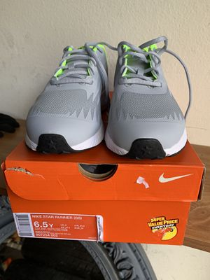 New Nike shoes size 6.5 retail price $55 plus tax for Sale in Rancho Santa Margarita, CA