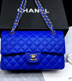 Royal blue Chanel bag for Sale in Tinicum Township, PA