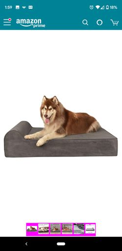 Large orthopedic Dog Bed memory foam for Sale in Litchfield Park,  AZ