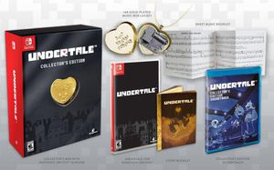 UNDERTALE Collectors Edition Game For Nintendo Switch for Sale in Lake Stevens, WA