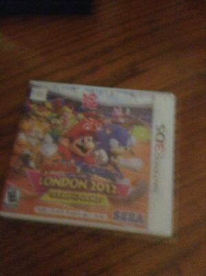 Nintendo 3ds. Mario sonic for Sale in Hialeah, FL