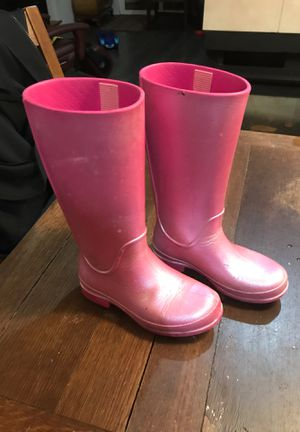 Girls Crocs rain boots for Sale in BETHEL, WA