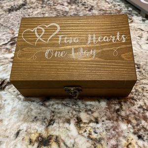 Rustic Wedding Ring Box for Sale in Fillmore, CA