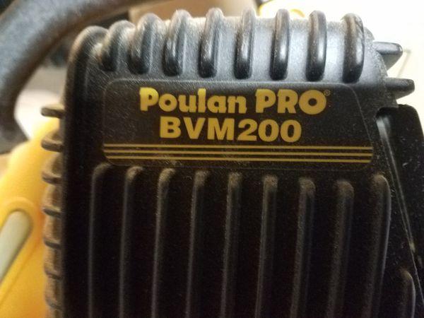 Poulon gas leaf blower