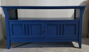 Navy Blue TV stand for Sale in Pensacola, FL