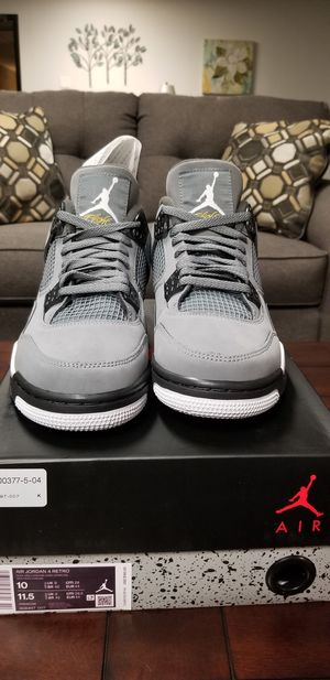 DS Jordan Cool Grey 4s (size 10) for Sale in Woodbury, MN