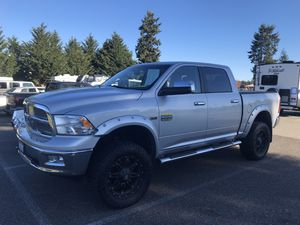 Only 65k miles LIFTED 2012 Dodge Ram 1500 Laramie Longhorn Edition Truck with LOTS of EXTRAS - DVD, 4WD, TOW Package, Phone Viper Phone App for Sale in Graham, WA