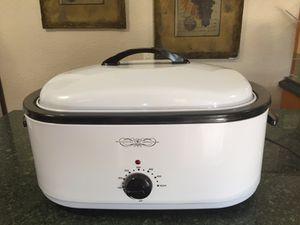 Roaster Oven, 18 Quart White for Sale in Cooper City, FL