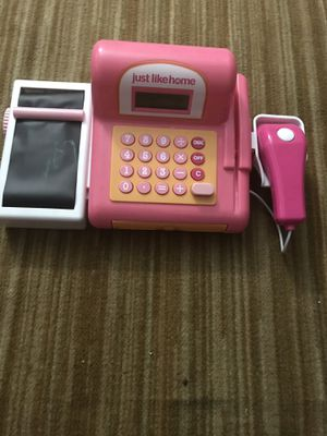 Toy cash register for Sale in Durham, NC