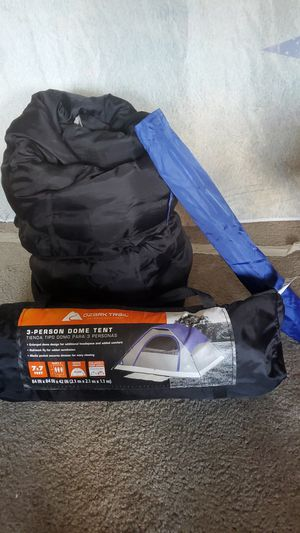 Tent & Sleeping Bag for Sale in Alafaya, FL