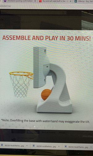 Pool Basketball Hoop by POOL SHOT for Sale in Warrensville Heights, OH