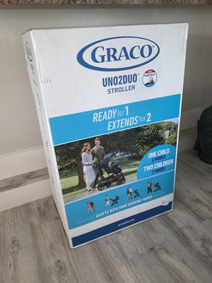 GRACO UNO2DUO STROLLER SEALED IN BOX for Sale in Hialeah, FL