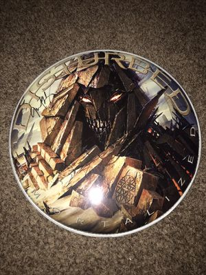 Drum head signed by Disturbed for Sale in Ames, IA