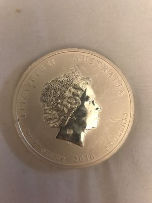 2016 5 ounce silver coin. .999 for Sale in Phoenix, AZ