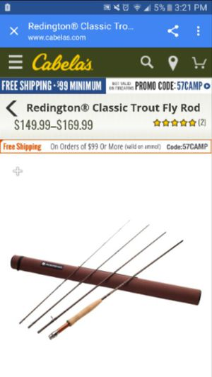 REDINGTON FLY FISHING ROD for Sale in Taylorsville, UT