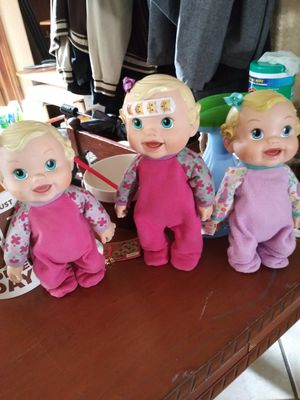 3 talking doll's for Sale in Fontana, CA