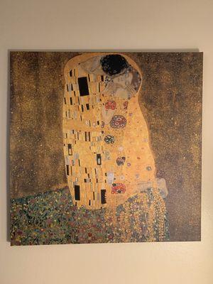 The Kiss by Gustav Klimt for Sale in Santa Ana, CA