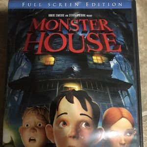 Monster House Full Screen Edition Dvd Movie for Sale in Elma, WA