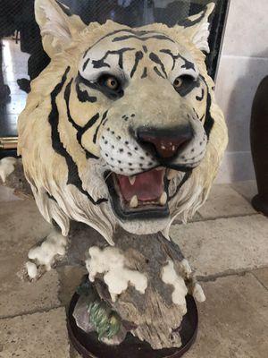 TIGER HEAD STATUE for Sale in Modesto, CA