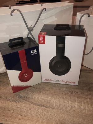 Beats solo 3 & Beats Studio 3 .... $450 for Sale in Malden, MA