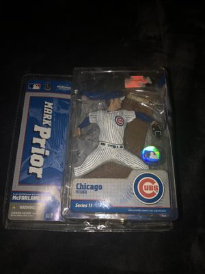 MLB Series 11 Chicago Cubs Mark Prior Pitcher Action Figure McFarlane Sportspick for Sale in Los Angeles, CA