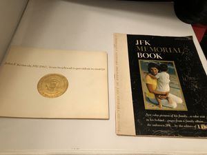 1964 john f kennedy from boy to President to martyr book and 1964 JFK Memorial Book by Look $8 each or both $15. Local pick up for Sale in Corona, CA