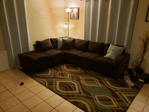 Couch Brown sectional for Sale in Merced, CA