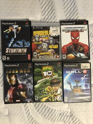 Ps2 games + 1 Ps3 Game for Sale in Orlando, FL