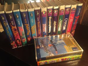 13 Disney's Classic Collectible *Diamond* & Masterpiece VHS + 2 others for Sale in Lebanon, TN
