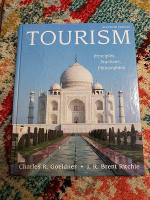 Eleventh Edition Tourism By. Charles R. Goeldner & J.R. Brent Ritchie for Sale in San Francisco, CA