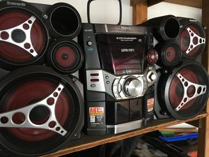 Panasonic stereo system for Sale in Medford, MA