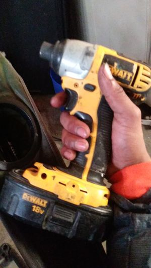 Dewalt 18v impact drill for Sale in Bakersfield, CA