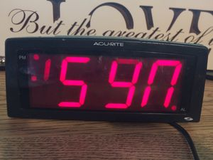 Large Alarm Clock Works! for Sale in Matlock, WA