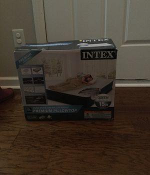 Brand new Intex air mattress w/ pump for Sale in Garner, NC