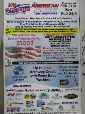Boat Sale for Sale in Shawano, WI