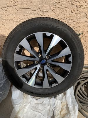 "2015 Subaru Outback 18"" OEM Wheels & Tires (4) for Sale in Las Vegas, NV"