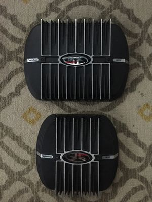 Rockford sub and highs amps lmk 200 Or best offer for Sale in Kapolei, HI
