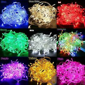 100 LED 10M Christmas Tree Fairy String Party Lights Xmax Waterproof Color Lamp for Sale in Los Angeles, CA