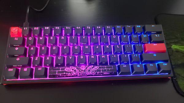 Hyper x X Ducky Mechanical Keyboard