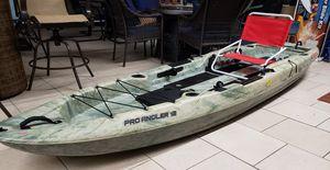 Ozark Trail 12Ft Pro Angler 12 Fishing Kayak - Needs seat & Paddle for Sale in Burlington, NJ