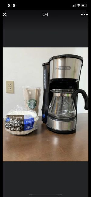 Black + Decker coffee machine for sale for Sale in San Diego, CA