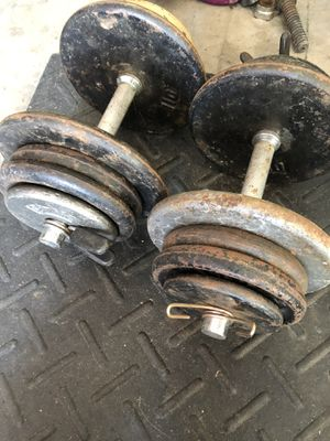 90 lbs Dumbbells for Sale in Oviedo, FL