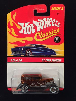 Hot Wheels '32 Ford Delivery • Series 3 SpectraFlame Orange for Sale in Keller, TX