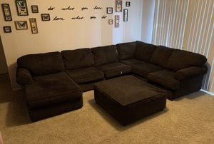 Brown Sectional Couch for Sale in Frisco, TX