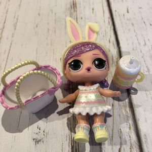 LOL Surprise Doll SPRING BLING HOPS Big Sister Glitter Easter Baby for Sale in Amherst, OH