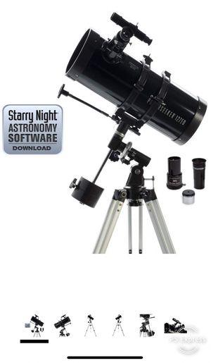 Celestron PowerSeeker 127EQ Telescope NEW in Box for Sale in Seattle, WA