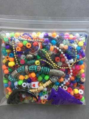 Assorted beads for crafts - 7oz for Sale in Sterling, VA
