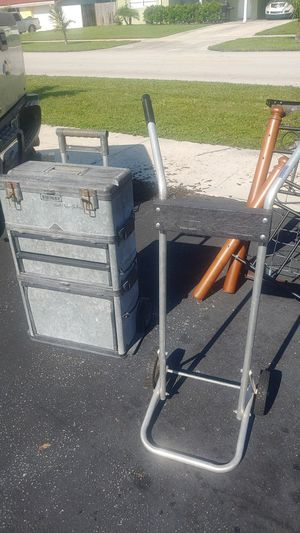 Tool box small outboard stand for Sale in Deerfield Beach, FL